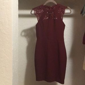 Red express dress size 0